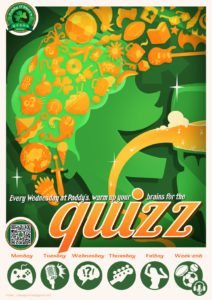 Wednesday Quiz Night @ Paddy Osheas